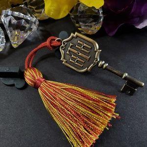 2/$18 Disney Haunted Mansion Key and Tassel Pin